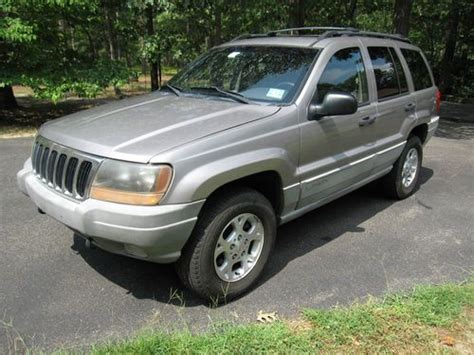 1999 Jeep Grand Laredo Transmission Sell Used 1999 Jeep Grand Laredo 1 Owner 4wd