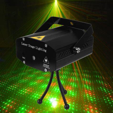 led light music portable mini led projector dj disco light red and green