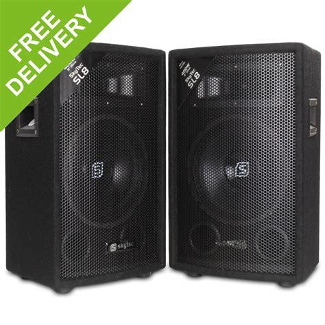 best bedroom speakers pair 8 quot inch bedroom dj pa party disco passive speakers