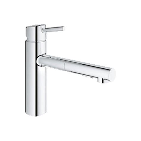chrome kitchen faucets grohe chrome kitchen faucet handle