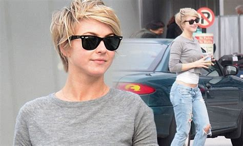 haircut mueller austin julianne hough is back in the sun and showing off some