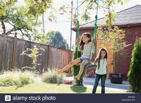 swing in backyard backyard tree swings outdoor goods