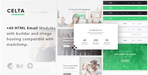 celta responsive email template builder