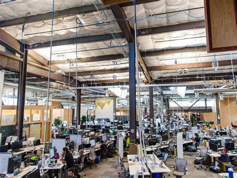 facebook office facebook s new headquarters where open plan is king and