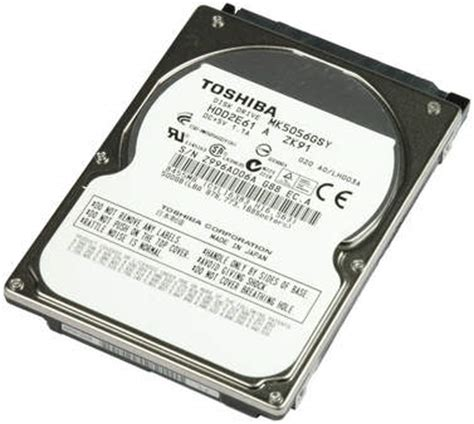 Hardisk Spectra Flash 500gb toshiba mk5056gsy 500gb 7 2k 16mb cache sata 3 0gb s 2 5 quot hdd
