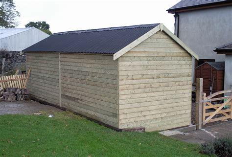 20x12 Shed by Custom Sheds Ireland Dublin Wicklow Wexford Sheds