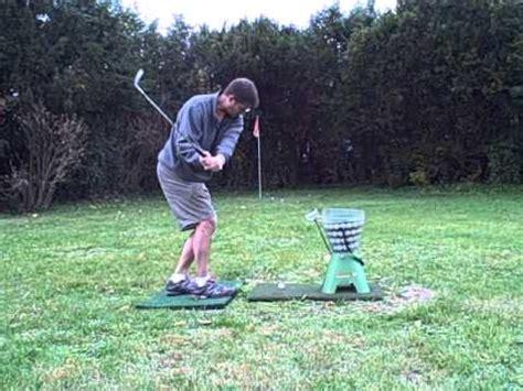 backyard golf practice net back yard golf practice range