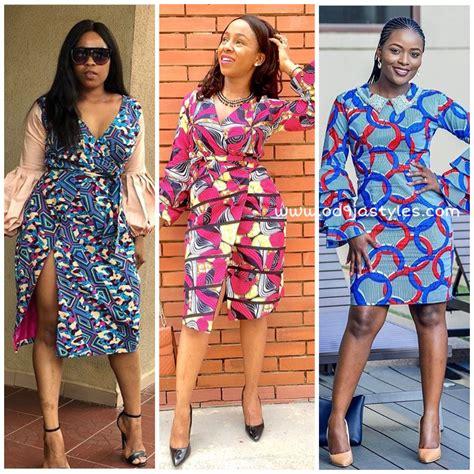 creative ankara short gown styles   african women