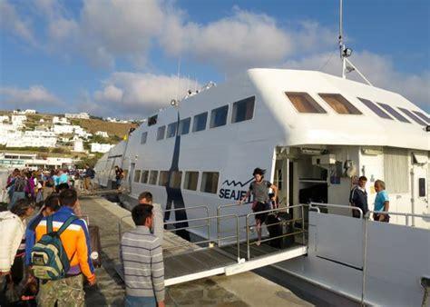ferry boat from mykonos to santorini mykonos to santorini the 2017 guide
