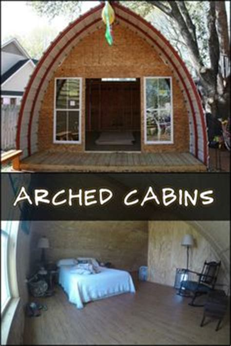 arch cabins prefabricated arched cabins can provide a warm home for