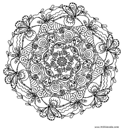 coloring pages free printable mandala coloring pages for