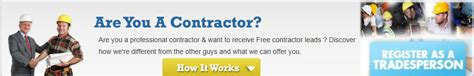 contractors leads free home improvement leads contractor