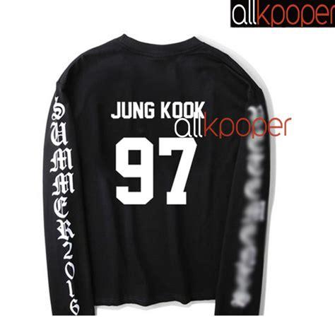 bts merchandise kpop bts jung kook sweater bangtan boys merchandise hoodie