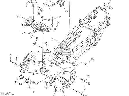 yamaha xj600 wiring diagram yamaha auto fuse box diagram