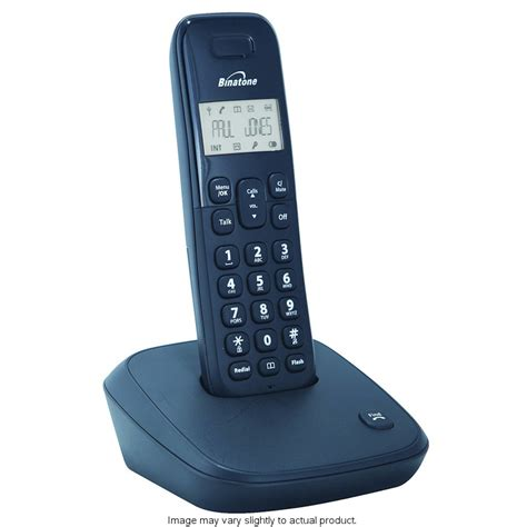 Home Decorative Stores by Binatone Single Dect Phone 266607 B Amp M
