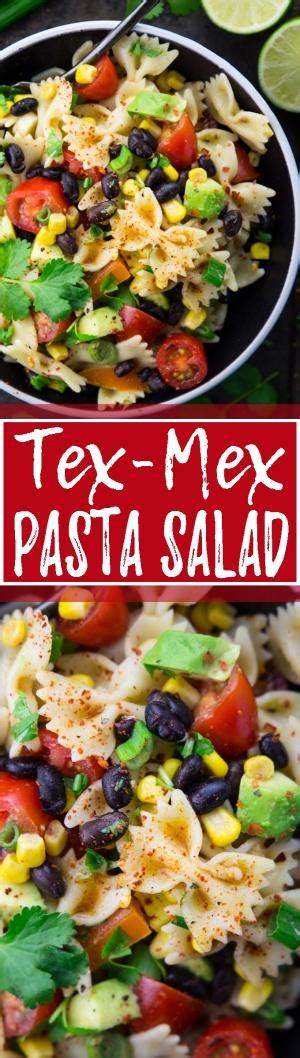 tex mex pasta salad cookies and cream popcorn only 3 ingredients making it