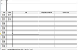Vorlage Word Teilnehmerliste Trainerleitfaden Gratis Vorlage Zur Seminarplanung