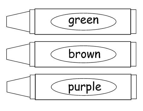 coloring crayons crayons coloring page 26290 bestofcoloring