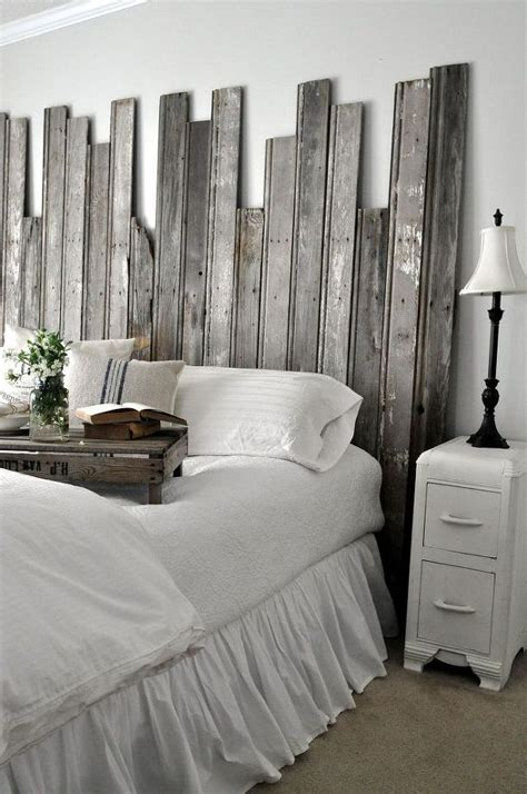 rustic headboard ideas reclaimed wooden headboard woodworking bedrooms and diy