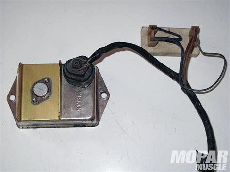 testing mopar ballast resistor chrysler ignition wiring diagram