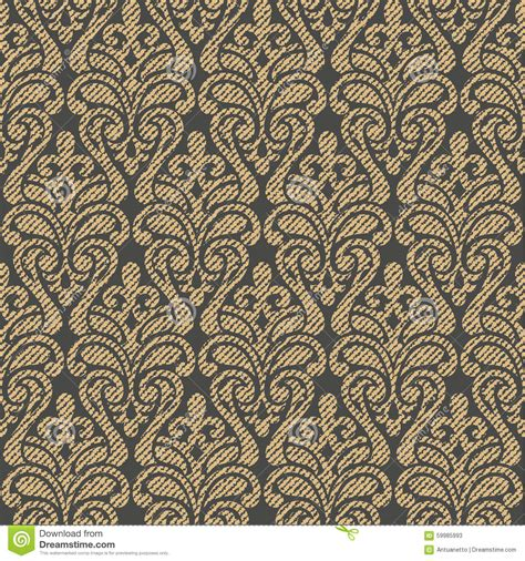 pattern fill texture vector damask seamless pattern background stock vector