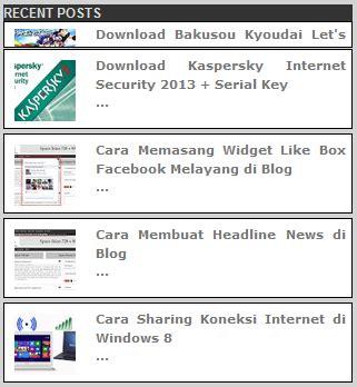 cara membuat widget instagram di blog cara membuat widget recent posts bergerak di blog cempeh