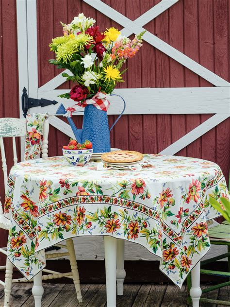 friendship tablecloth table linens kitchen