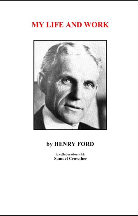 my and work autobiography of henry ford books mylife 1 cover html