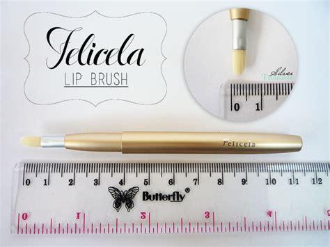 Felicela Slide Lip Brush lucky trendy felicela lip brush silver treasure