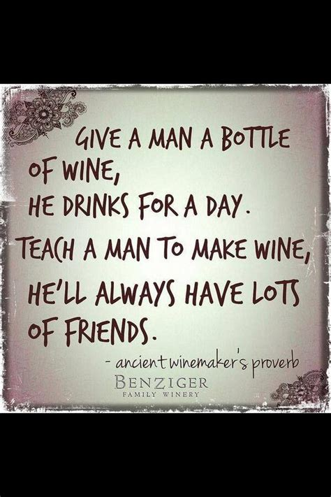 Giving The Gift Of Wine Glamorously by Best Wine Quotes Sayings And Quotations Quotlr