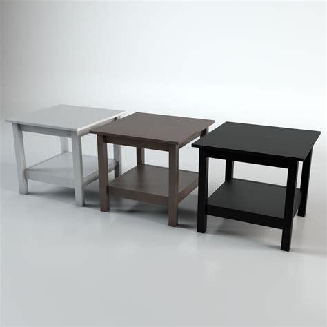 Ikea Hemnes Side Table Ikea Hemnes Side Table 3d Model 5 Ma C4d Fbx Free3d