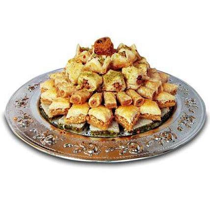 Arabic Sweet Baklava Roll Mixnut baklava mix in uae gift baklava mix ferns n petals