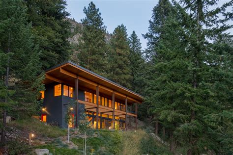 mountain cabin chechaquo cabin modern mountain cabin design
