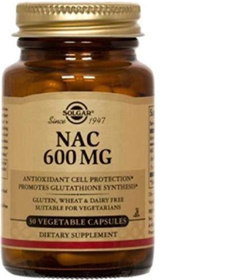 Nac Detox Dosage by Solgar Nac 600mg The Apothecary