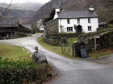 Yew Tree Cottage Coniston by The Changing Of The Humble Farm