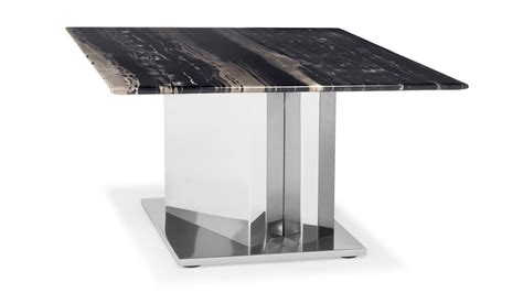 black and white marble polished stainless steel malbec black and white marble table chic black and white marble coffee table at 1stdibs vienna