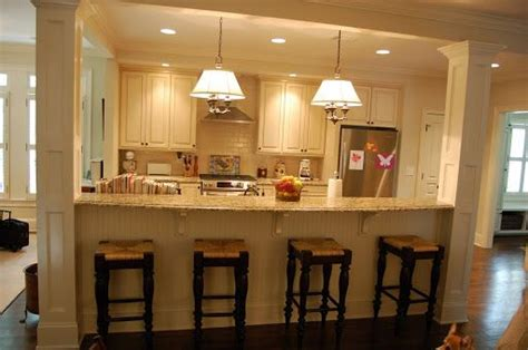 kitchen island with columns load bearing wall dream home load bearing islands kitchen flickr http www flickr