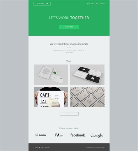 layout html codes free design code free psd on behance
