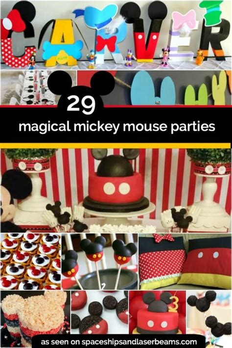 birthday themes mickey mouse mickey birthday party www pixshark com images