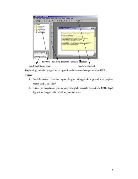 tutorial membuat use case diagram dengan rational rose uml