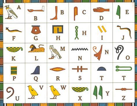 Hieroglyphics Worksheet mrs zink s october 2012