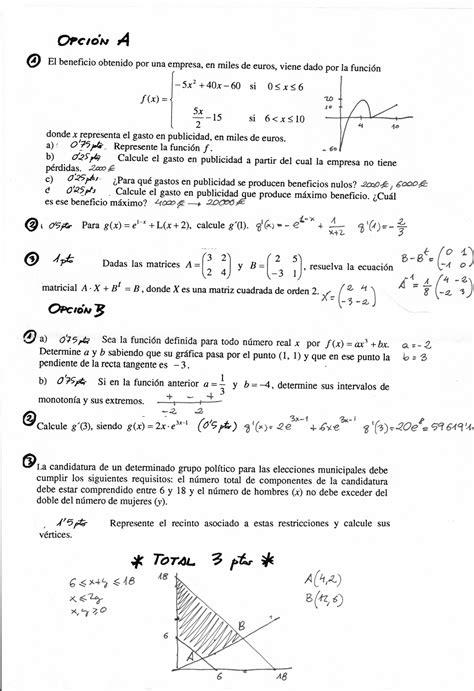matemticas 2 bachillerato matem 193 ticas juan lara 2 186 bachillerato sociales a examen de probabilidad