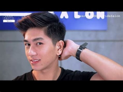 pinoy new haircut for men dear david by david s salon haircuts and hairstyles for