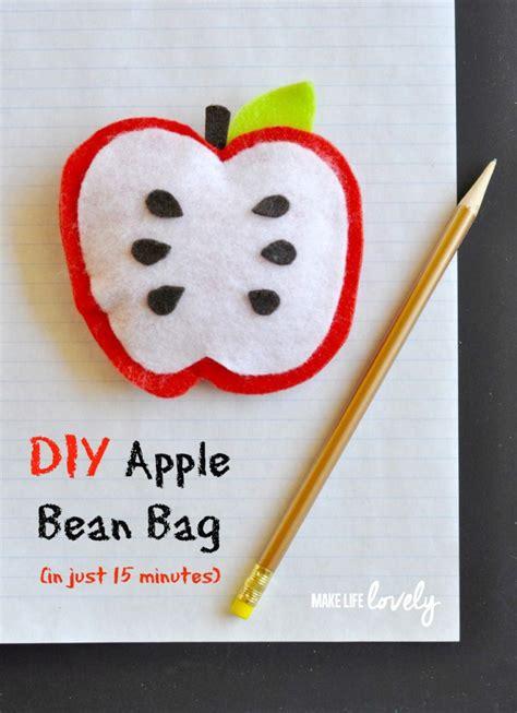 diy bean bag frame mini apple beanbags in the classroom