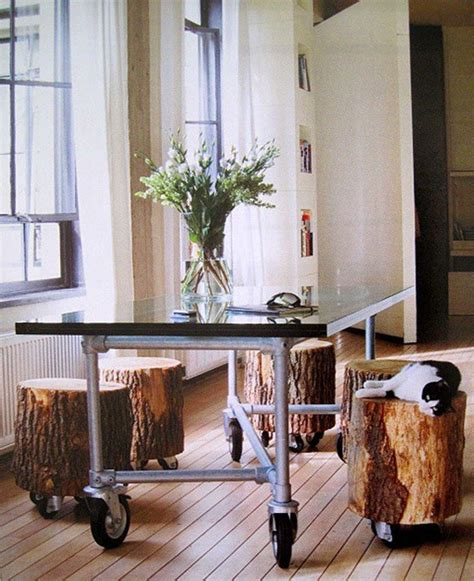 Tree Stump Decor by The Coolest New Decorating Trend 18 Great Tree Stump