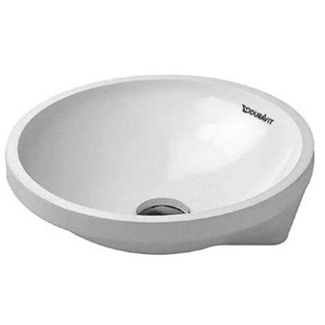 lavabo empotrado lavabo empotrado architec 40 cm duravit materiales de