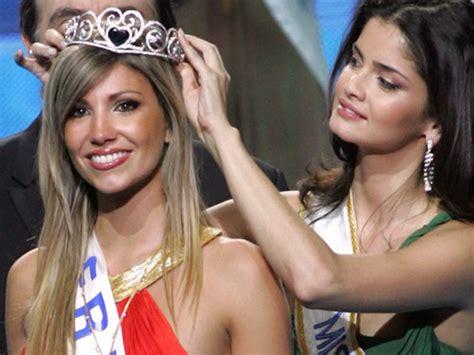 Alexandra Rosenfeld Crowned Miss Europe 2006 2 by Miss Est Sacr 233 E Miss Europe Actu
