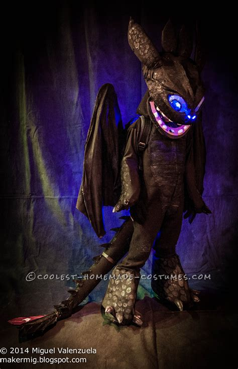 how to your toothless costume how to your toothless costume