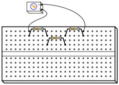 connect resistors in series on breadboard electrical connections worksheet