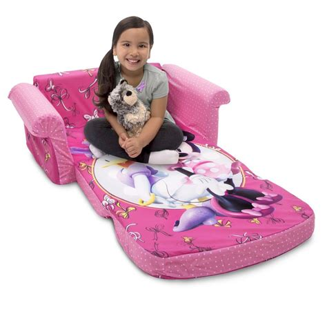 minnie flip open sofa spin master marshmallow furniture flip open sofa minnie bow tique